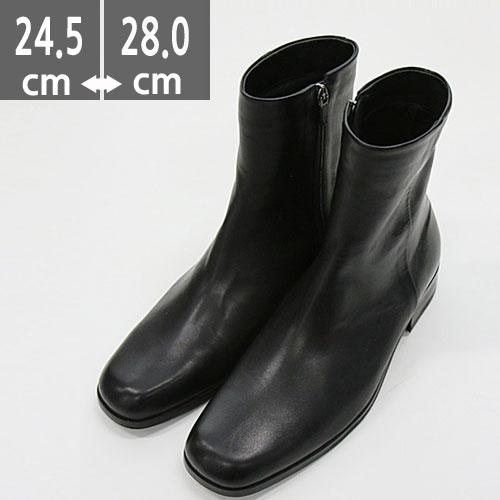 プレミアム牛革ブーツ ブラック 黒 ハンドメイド ウエスタン ブーツ、ヒール3.cm、メンズ ハイヒール、3.0cmヒール ブーツメンズ、ヒールブーツ メンズ ウエスタン ブーツメンズ、ウエスタンブーツ、ヒールブーツ メンズ、乗馬ブーツ