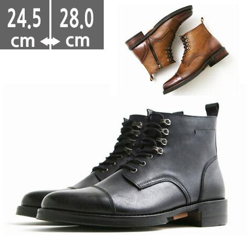 プレミアム本革 ハンドメイド 24.5cm~28.0cm ブーツ、ヒール3.5cm、メンズ ハイヒール ブーツメンズ、ウエスタン ブーツメンズ、ウエスタンブーツ、ヒールブーツ メンズ