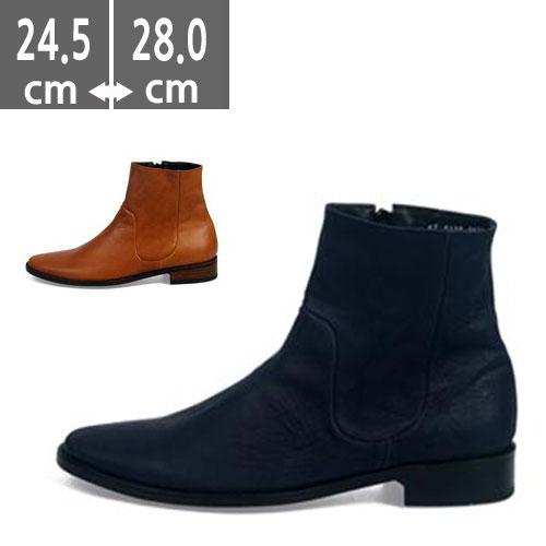 ハンドメイド プレミアム牛革 ハンドメイド ウエスタン ブーツ、ヒール3.0cm、メンズ ハイヒール、3.0cmヒール ブーツメンズ、ウエスタン ヒールブーツ メンズ、乗馬ブーツ メンズ