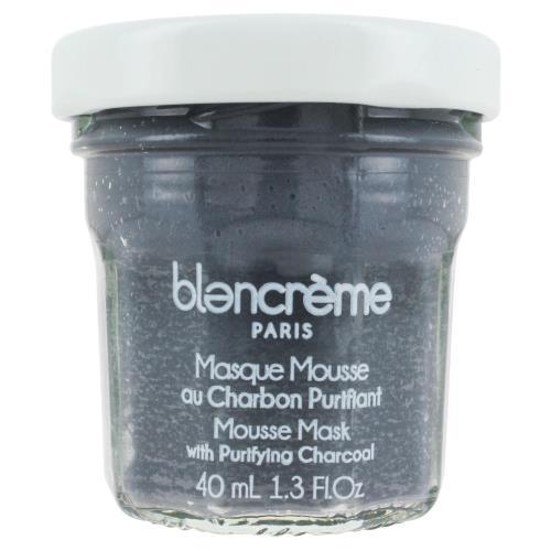 フランス発のナチュラルボディケアブランド blancreme フェイスマスク40ml お買得 クリーム チャコール 売れ筋 プレゼント フルーツ ブランクレーム ボディケア