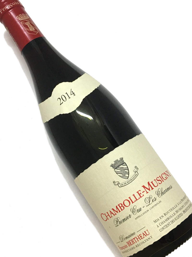2014年 返品不可 フランソワ ベルトー シャンボール ミュジニー 最新 赤ワイン 750ml フランス レ シャルム