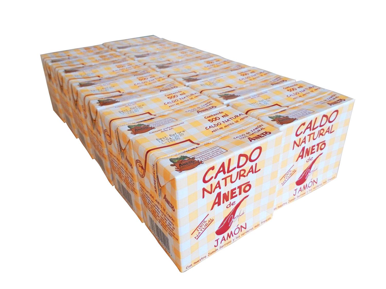 グルテンフリー 生ハムカルドスープ500ml 12個セットスペイン直輸入 生ハム ナチュラル 栄養満点 高品質【数量限定☆ANETOピクニックバッグプレゼント付き☆】