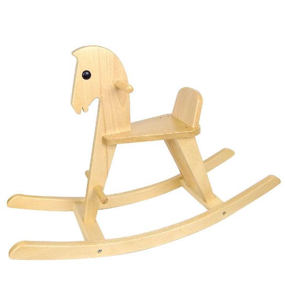 マラソン中全品ポイント5倍! 【コイデ 白木の木馬 お取り寄せ商品】KOIDE東京 日本製 木製玩具 木の乗用玩具 1歳  ギフト