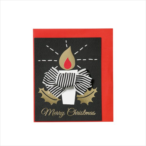 fancy christmas ribbon and christmas greeting cards - Fancy Christmas Cards