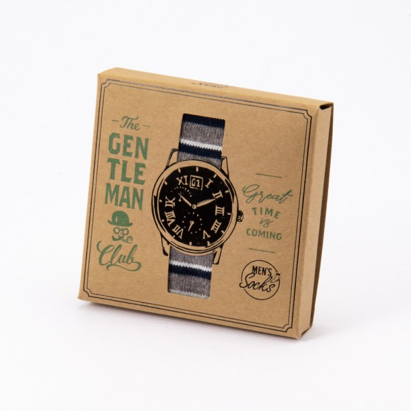 Socks / Wristwatch / Gray / THE GENTLEMAN Club, Item Code: ZRSKNO-SK01-GY   Discover our wide range of fashionable, unique and high quality accessories
