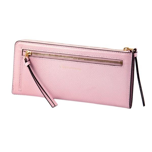 パール2 LFロング ウォレット ピンク EDITO365 長財布 おしゃれ かわいい 本革 レディース マークス