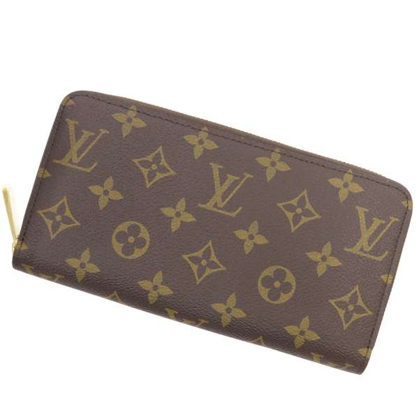 Louis Vuitton Long Wallet Monogram Zippy M42616 Purses
