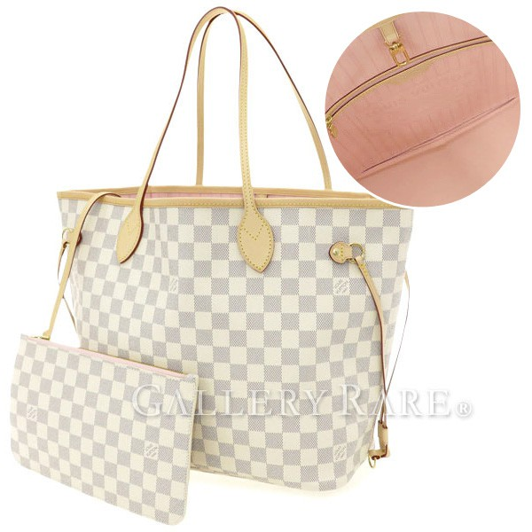 Louis Vuitton Tote Bag Damieazur Neverfull Mm Pouch N41605