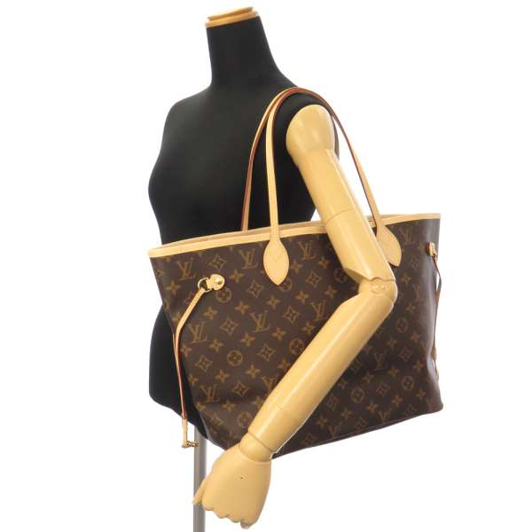 91e82f5de1cc LOUIS VUITTON Monogram Neverfull MM Monogram Canvas Pivoine Tote Bag M41178