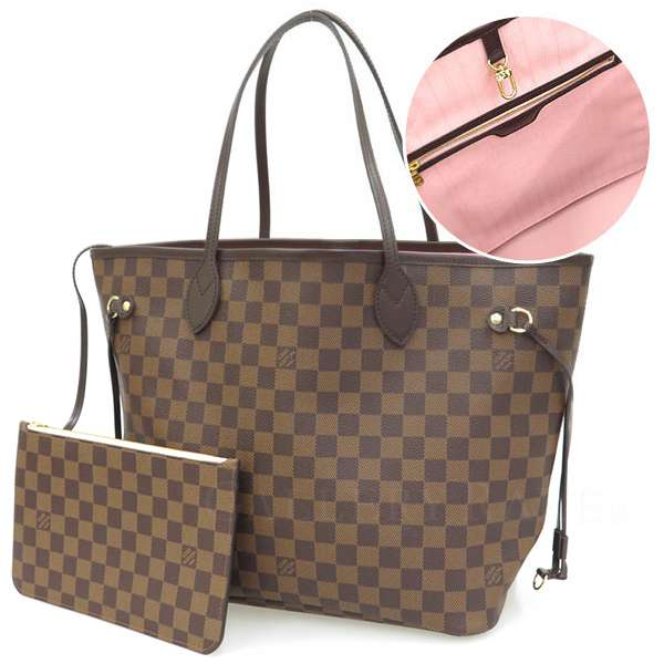 Louis Vuitton Totes Damier Neverfull Mm Bag With N41603 Handbags