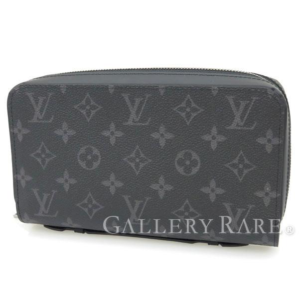 8f90fb00adfb Louis Vuitton long wallet Monogram Eclipse zippy XL M61698 LOUIS VUITTON  Vuitton wallet men s clutch