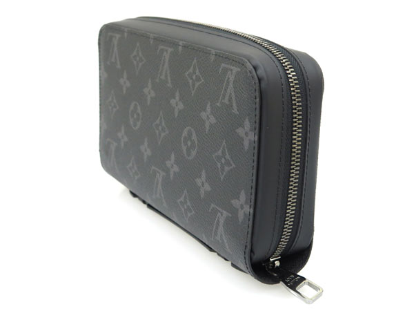 c4bdda221fa5 Louis Vuitton long wallet Monogram Eclipse zippy XL M61698 LOUIS VUITTON  Vuitton wallet men s clutch