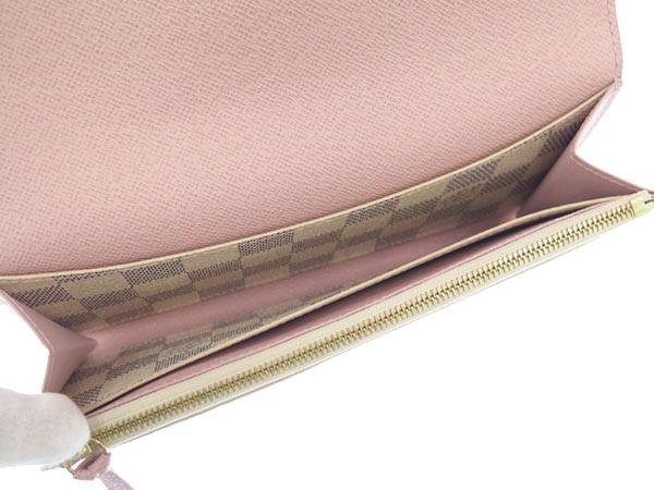 Louis Vuitton long wallet Damier Azur wallet of Emily N41625 LOUIS VUITTON Vuitton purses