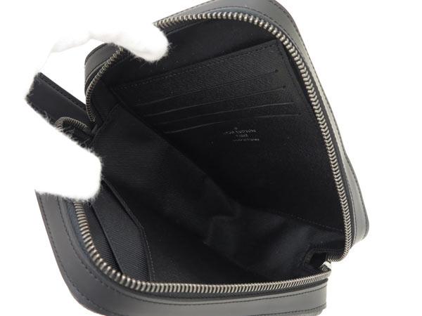 Louis Vuitton bag Monogram Eclipse box / clutch M61872 VUITTON LOUIS VUITTON mens bags pouch 2016 new year fall