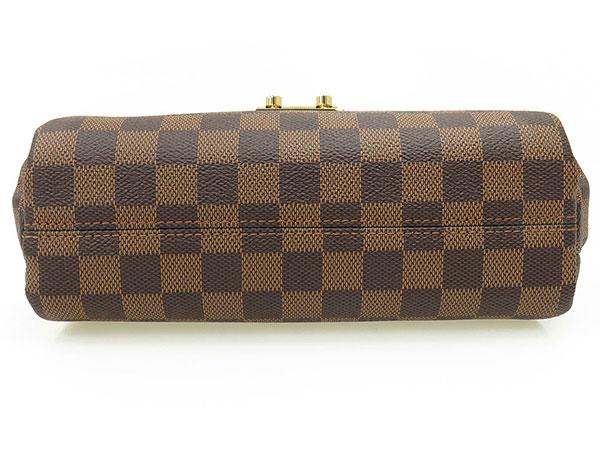 Louis Vuitton handbag Damier Croisette N53000 LOUIS VUITTON Vuitton bag cross body angled loveseat Pochette