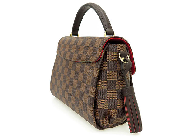 louis vuitton crossbody damier. louis vuitton handbag damier croisette n53000 louis vuitton bag cross body angled loveseat pochette crossbody