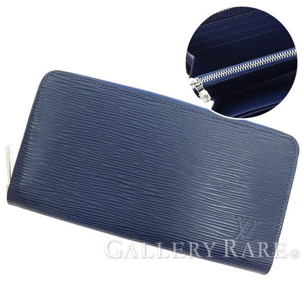 ba818a02fa9 LOUIS VUITTON Epi Zippy Wallet Epi Leather Indigo blue M61873