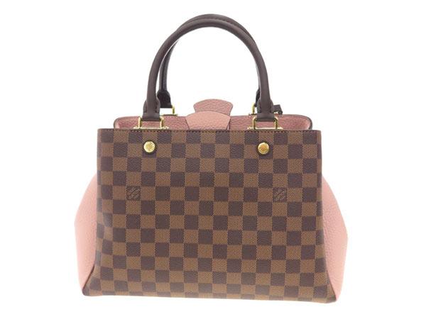 路易 · 威登手袋双色格子布列塔尼 N41674 路易威登路易威登包