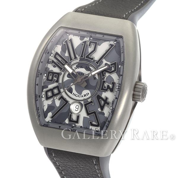 フランクミュラー ヴァンガード カモフラージュ V45SCDT MC TT CAMO FRANCK MULLER 腕時計