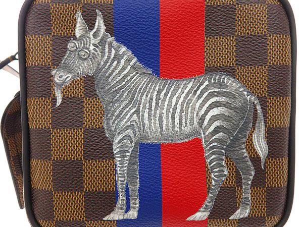 在ruivitonshorudabaggudamieamazon 2017年春天夏天收集N42703 LOUIS VUITTON SPO威登包斑马条纹
