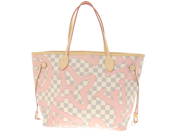 N41050 LOUIS VUITTON Vuitton bag with the ルイヴィトントートバッグダミエ アズールモノグラム プリントネヴァーフル MM porch