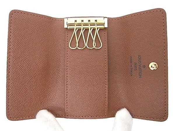 Louis Vuitton 4 key holder Monogram multicore 4 M 62631 VUITTON LOUIS VUITTON key case
