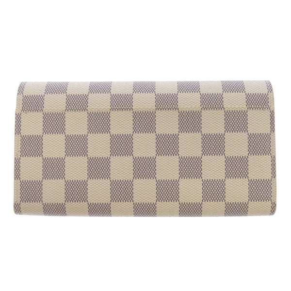 Louis Vuitton long wallet Damier Azur wallet-Sarah N63208 LOUIS VUITTON Vuitton purses