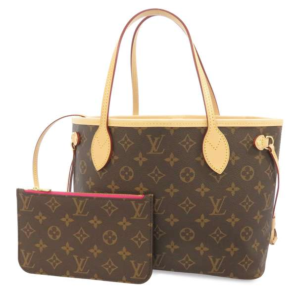 Louis Vuitton Monogram Neverfull Pm Canvas Tote Bag M41245