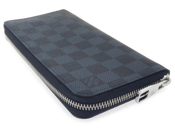 d11cc794534a Louis Vuitton long wallet Damier cobalt zippy-wallet vertical N62240 LOUIS  VUITTON Vuitton wallet men
