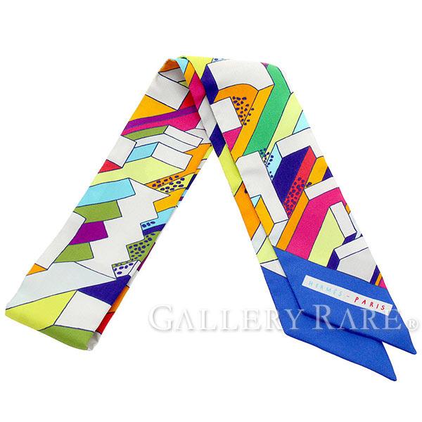 エルメス スカーフ ツイリー シルクツイル オン・ア・サマー・デイ On a Summer Day HERMES シルクスカーフ 2017年春夏コレクション
