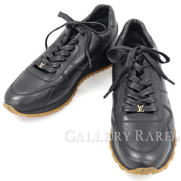 edb06eb9c874 Louis Vuitton Sneakers Supreme Limited Edition Black Leather Shoes Auth  4050735
