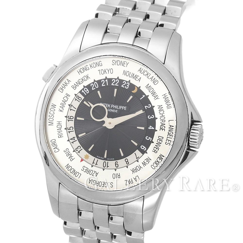 パテックフィリップ ワールドタイム ホワイトゴールド 5130/1G-011 PATEK PHILIPPE 腕時計【安心保証】【中古】