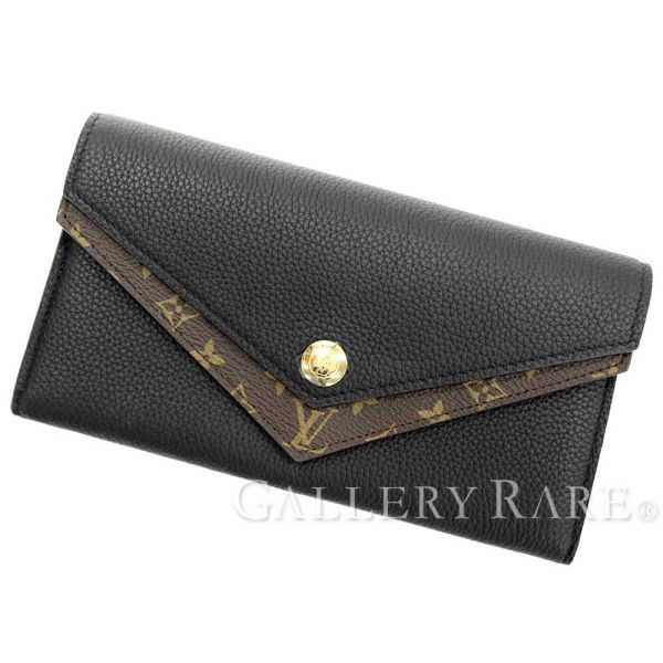 90dd9a721cd0 Gallery Rare  Louis Vuitton wallet V M64319 LOUIS VUITTON DOUBLE V ...