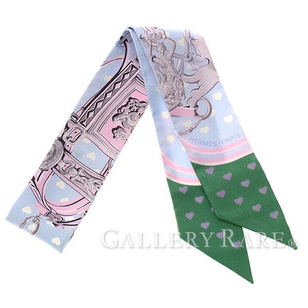 エルメス スカーフ ツイリー シルクツイル ブリッド・ドゥ・ガラ・ラヴ Brides de Gala love HERMES シルクスカーフ ハート 限定 2017年新作