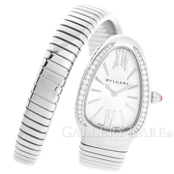 【最大3万円OFF★7/1(金) 0時~】 ブルガリ セルペンティ ベゼルダイヤモンド トゥボガスブレス SP35S SP35C6SDS.1T/L BVLGARI 腕時計 レディース