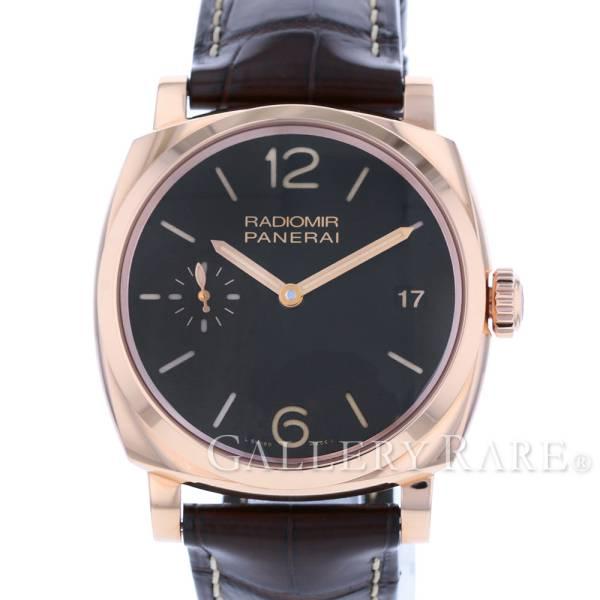 パネライ ラジオミール 1940 3デイズ オロロッソ PAM00515 Q番 PANERAI 腕時計【安心保証】【中古】