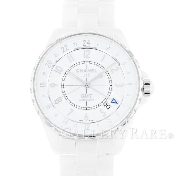 【最大3万円OFF★7/1(金) 0時~】 シャネル J12 GMT ホワイトセラミック H3103 CHANEL 腕時計
