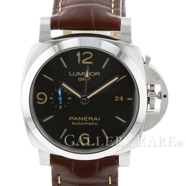 パネライ ルミノール 1950 3デイズ GMT オートマティック アッチャイオ T番 PAM01320 PANERAI 腕時計 ウォッチ