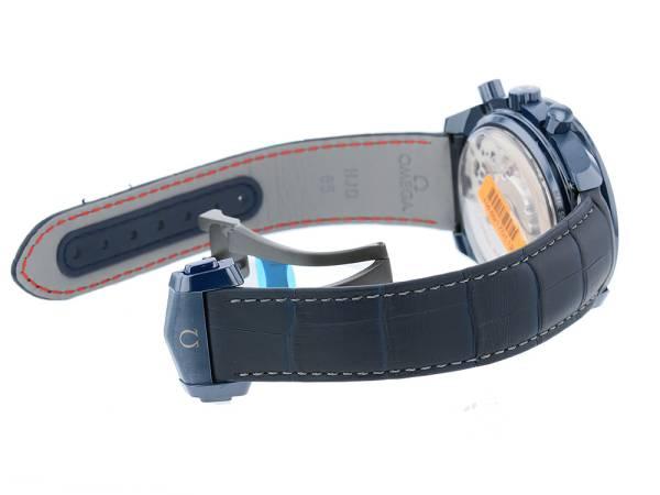 オメガ スピードマスター ムーンウォッチ ブルー サイド オブ ザ ムーン 304.93.44.52.03.001 OMEGA ウォッチ 腕時計 クロノグラフ ムーンフェイズ