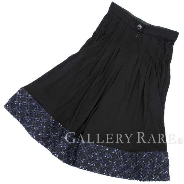 シャネル キュロットスカート ビスコース レディースサイズ34 P54633 CHANEL ズボン パンツ【安心保証】【中古】