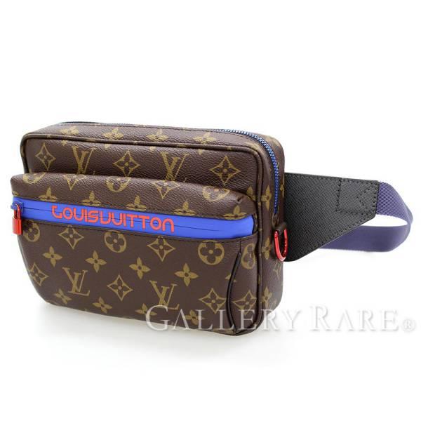 Louis Vuitton Waist Porch Monogram Bam Bag M43828 Men 2018 Latest Kim Jones