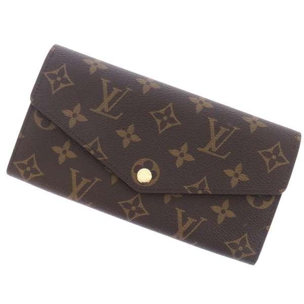ルイヴィトン 長財布 モノグラム ポルトフォイユ・サラ コクリコ M62236 LOUIS VUITTON ヴィトン 財布