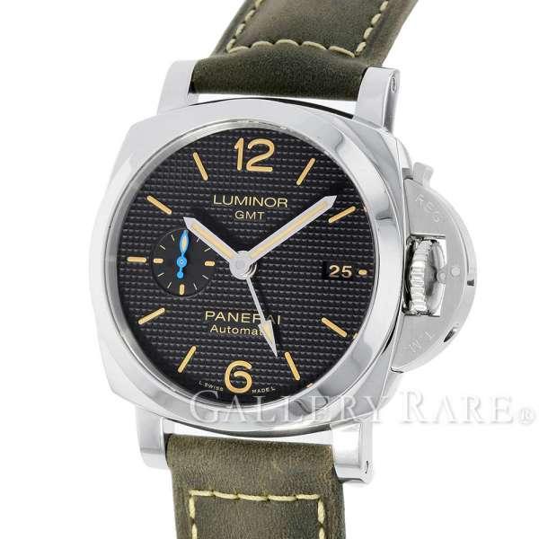 【最大3万円OFF★7/1(金) 0時~】 パネライ ルミノール 1950 3デイズ GMT オートマティック アッチャイオ T番 PAM01535 PANERAI 腕時計 ウォッチ