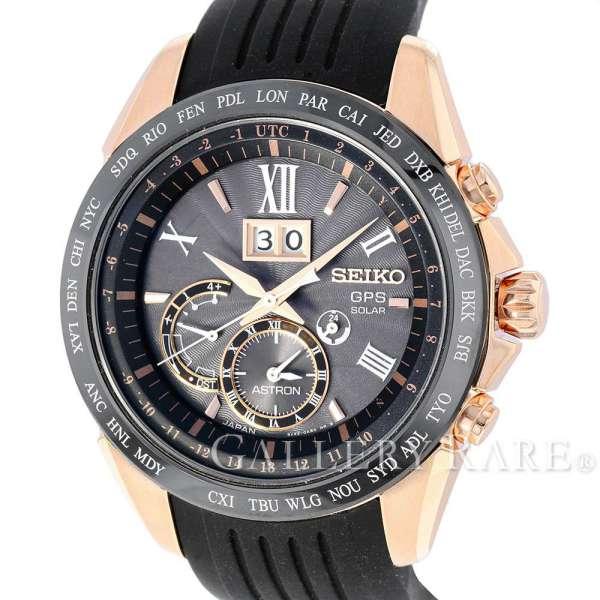 【サマーセール】セイコー アストロン ASTRON 8Xシリーズ デュアルタイム GPSソーラー SBXB153 SEIKO 腕時計【安心保証】【中古】