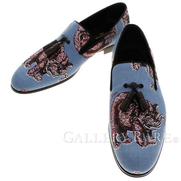 ルイヴィトン ローファー チャップマンブラザーズ エレファント タッセル付き メンズサイズ7 1/2 LOUIS VUITTON ヴィトン 靴 スリッポン