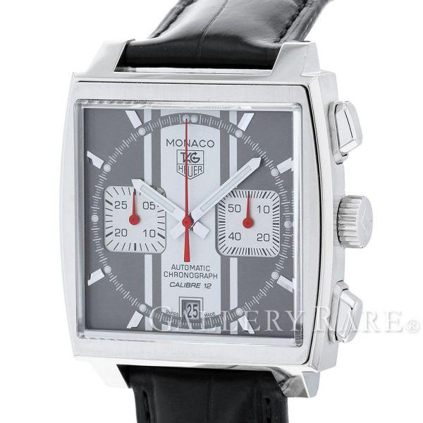 タグホイヤー モナコ キャリバー12 クロノグラフ CAW211N.FC6177 TAGHEUER 腕時計【安心保証】【中古】