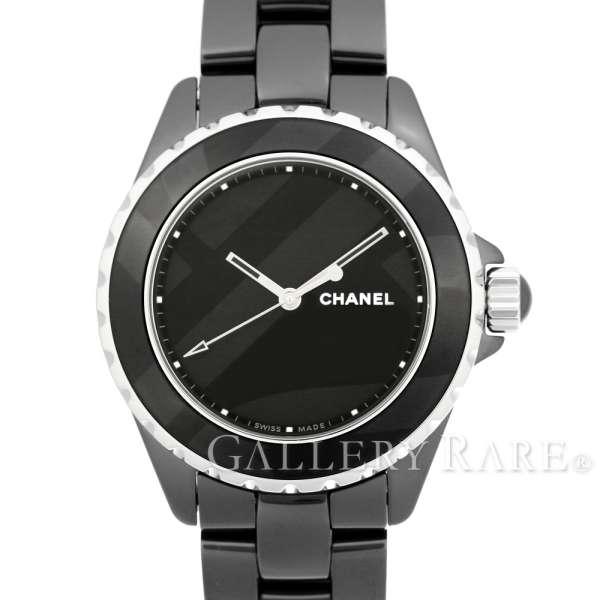 【最大3万円OFF★7/1(金) 0時~】 シャネル J12 38mm アンタイトル ブラックセラミック H5581 CHANEL 腕時計 世界限定1200本