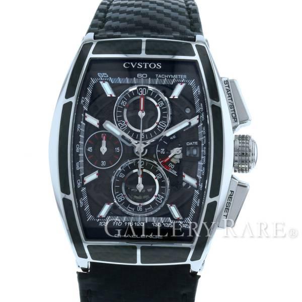 【最大3万円OFF★7/1(金) 0時~】 クストス チャレンジクロノII カーボン CVT-CHR2-CARBON ST CVSTOS 腕時計