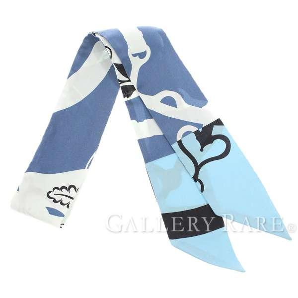 エルメス スカーフ ツイリー シルクツイル アマゾンの祭典・カドリ Festival Quadri HERMES シルクスカーフ プレタポルテ限定