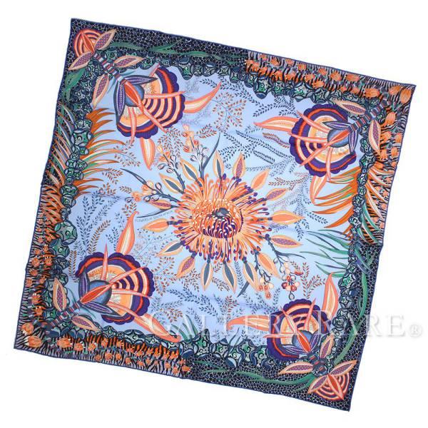 【激安大特価!】  エルメス スカーフ カレ90 シルクツイル 南アフリカの花々 of Flowers of シルクツイル South South Africa HERMES シルクスカーフ 2017年秋冬, Colorful Textile Market:44e27eb4 --- blablagames.net